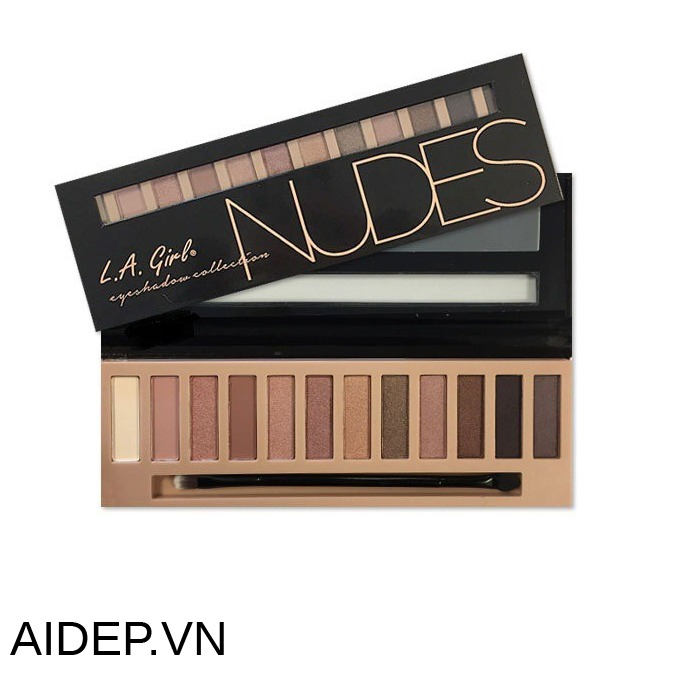 Bảng phấn mắt 12 ô L.a Girl collection nude