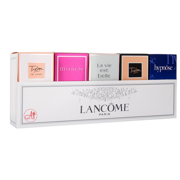 Set Mini Giftset Lancome 5 Chai