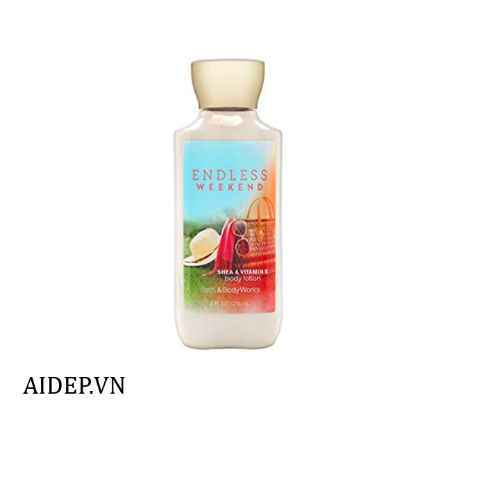 Lotion Dưỡng Thể Bath & Body Works Endless Weekend