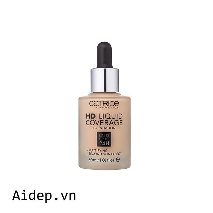 Kem nền Catrice HD Liquid Foundation Lasts Up To 24h