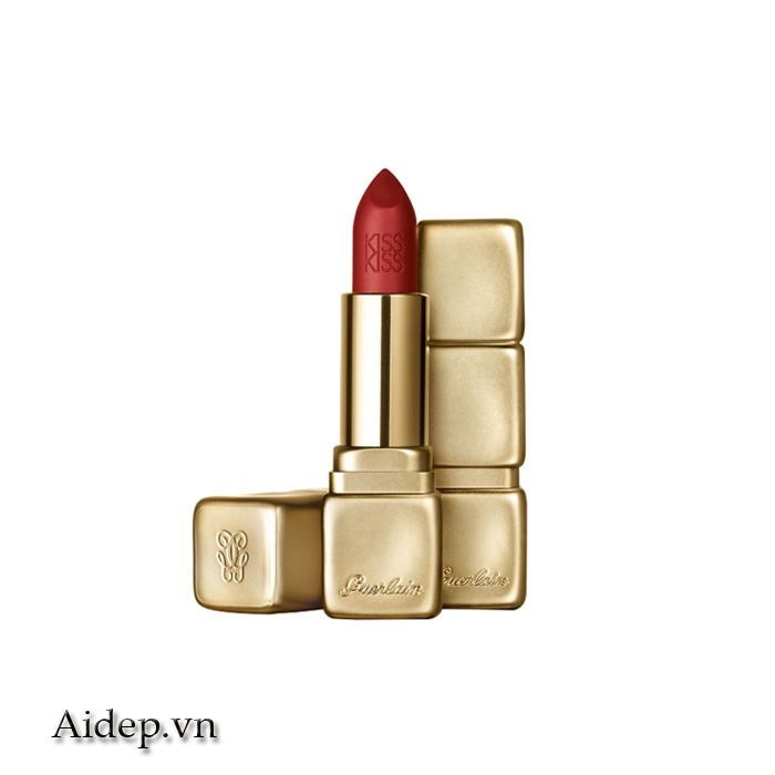 Son Guerlain Kiss Kiss Matte M330 – Spicy Burgundy