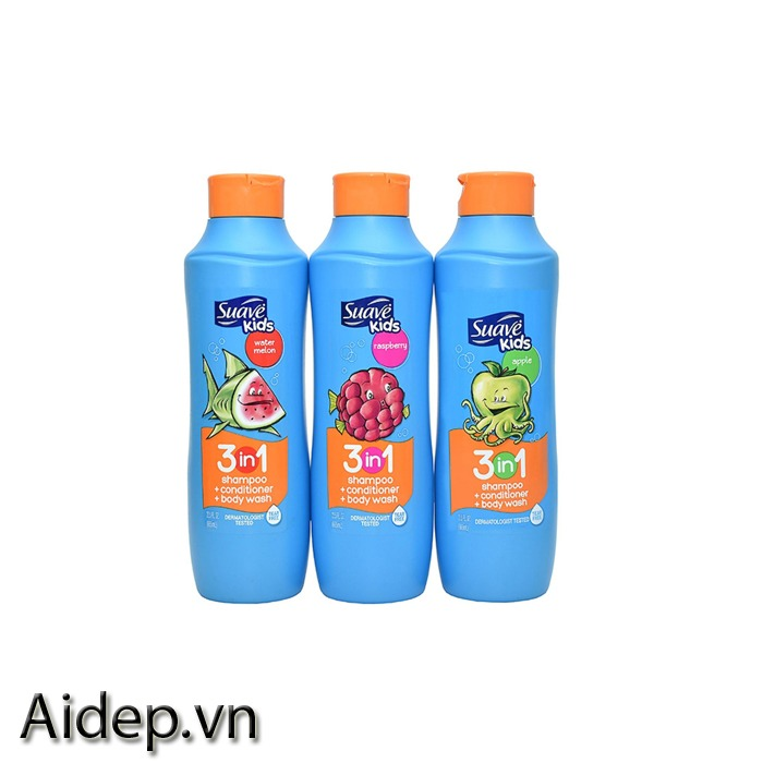 Tắm gội Suave Kid 3in1 665ml